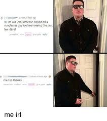 Sunglass Meme - 25 best memes about sunglass guy sunglass guy memes