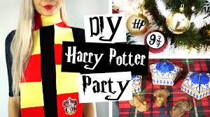 Harry Potter Decor by Diy Harry Potter Party Ideas ϟ Decor Gifts U0026 Treats Youtube
