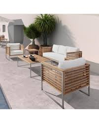 Outdoor Sofa Sets by Spectacular Deal On Vgmgminorca Renava Minorca 5 Pc Outdoor Sofa