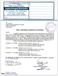 occupancy certificate u0026 completion certificate importance