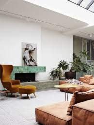Leather Wingback Chair With Ottoman Design Ideas Wingback Chair And Ottoman From Tom Dixon Giving A Slightly