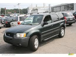 Ford Escape Green - 2003 aspen green metallic ford escape xlt v6 4wd 34447849