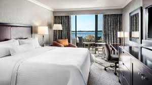 traditional guest room the westin harbour castle toronto hotel