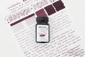 Pretty Color Names Inktastic Kwz Brown Pink Ink Review The Pencilcase Blog