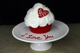 how to make a romantic giant cupcake youtube
