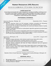 human resources resume exles human resources resume sle writing tips resume companion