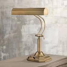 Antique Double Desk Lamp Brass Desk Lamps Lamps Plus