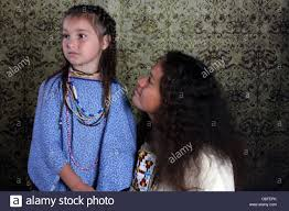native american lakota sioux indian woman and child stock photo
