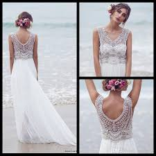 discount anna campbell 2016 wedding dresses beading crystals