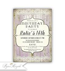 18th birthday party invitations 18th birthday invitations for