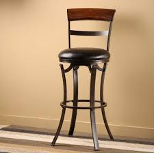 black leather counter height bar stools 8259