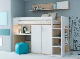 lit mezzanine avec bureau et rangement rangements mezzanine enfant recherche chambre enfant