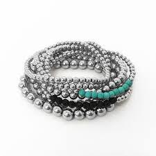 bracelet elastic silver images 925 sterling silver bead stretch bracelet kelly and rose boutique jpg