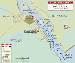 Map Of Rio Grande River Palmito Ranch Civil War Trust