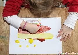 activité manuelle cuisine activité manuelle peinture carte 5 with