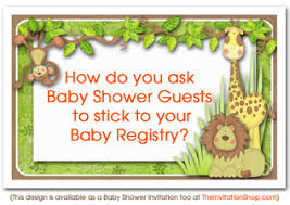 registry for baby shower the invitation shop party the invitation shop