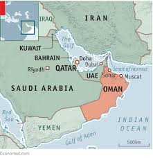 map of oman and uae oman is benefiting from the standoff qatar for now qatar aid