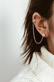 cuff earrings divina ear cuff earring xrose jewelry