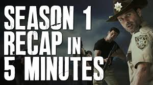 Walking Dead Resumes The Walking Dead Season 1 In 5 Minutes Story Recap Plot