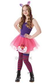 cheshire cat halloween costumes cheshire cat tutu u0026 ear ladies fancy dress disney wonderland woman