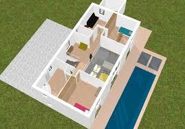 cuisine en ligne 3d plan maison gratuit 3d 13 idee 2 pieces lzzy co en ligne newsindo co