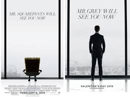 movie fifty shades of grey come out fifty shades of grey movie shown right next to spongebob 2 at drive