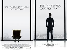 spongebob squarepants film posters spoof fifty shades of grey