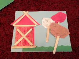 popsicle stick farm animals u0026 barn simple for kids craft kids