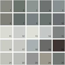 benjamin moore paint colors gray palette 07 house paint colors