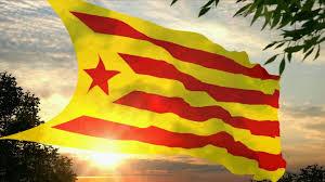 Flag Of Catalonia Flag And Anthem Of Catalonia Estelada Roja Flag Youtube