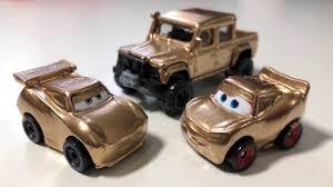 disney cars 3 custom gold jackson storm metallic gold lightning