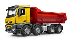 minecraft dump truck bruder mercedes benz halfpipe dump truck construction site