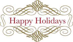 happy holidays free suggested wording geographics clip