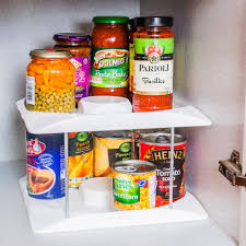 tin can tidy kitchen cupboard wall unit food storage oganiser