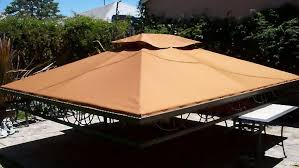 Sandboxes With Canopy And Cover by Absolutely Custom Canopy And Patio Shade Structures