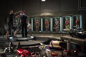 Iron Man House by Tony Stark Advances U0027iron Man 3 U0027 Armor To Mark Xlvii Bloody