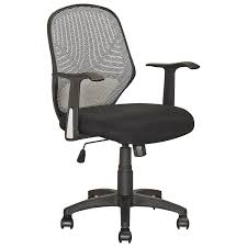Black And White Desk Chair by Corliving Linen Fabric Task Chair Black Office Chairs Best