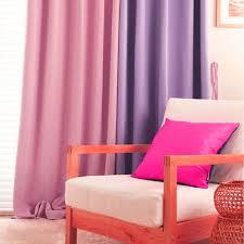 Blackout Purple Curtains Shop Korean Purple Pink Blackout Curtains For Living Room