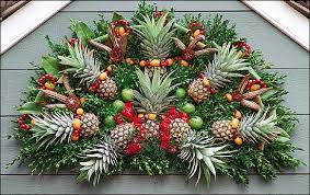 Christmas Decorations To Buy In South Africa by Decorations The Pineapple In Colonial Williamsburg The