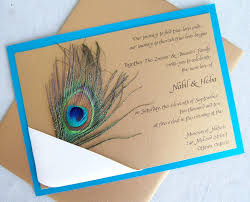 make your own wedding invitations best peacock wedding invitations use some beautiful accessories