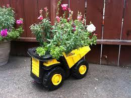 tonka truck planter gardening planters garden