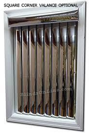 Vertical Blind Valance Ideas Metallic Blinds Gold Mirror Vertical Blinds Ideas For The