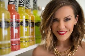 courtney kerr haircut lo cal drink mixer company skimpy mixers announces product launch