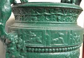 antique iron planters images