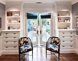 french closet doors closet traditional with wood floors white