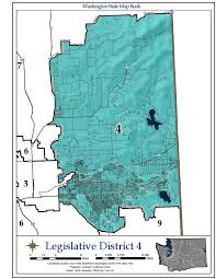 Wenatchee Washington Map by Washington U0027s 4th Legislative District Wikipedia