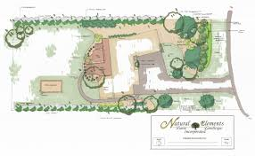 Landscape Floor Plan by Natural Elements Lawn U0026 Landscape Incorporated The Twin Cities
