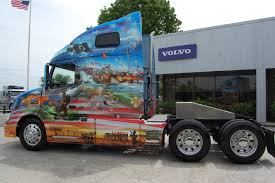 volvo truck trailer photo gallery visiting volvo u0027s two ride of freedom trucks fleet