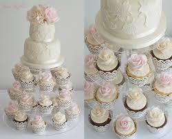 wedding cakes cakes with matching cupcakes u0026 cupcake towers