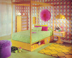 70s Bedroom Furniture Gold Country Girls Bright And Colorful 70 U0027s Bedrooms Featuring